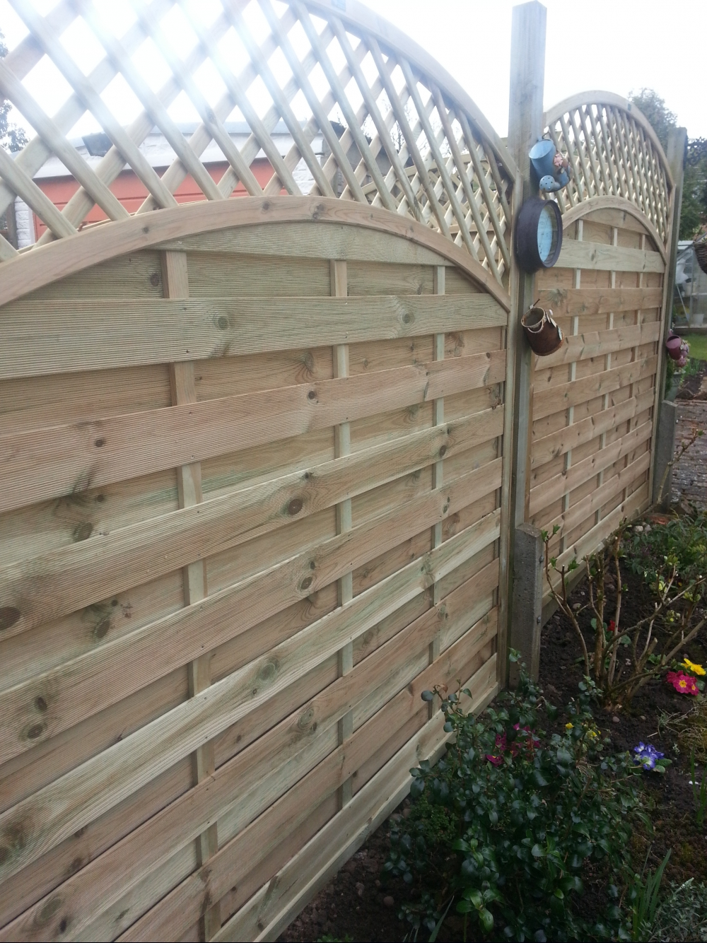 Replacement garden fencing expensive high quality fence panels baanklon Image collections