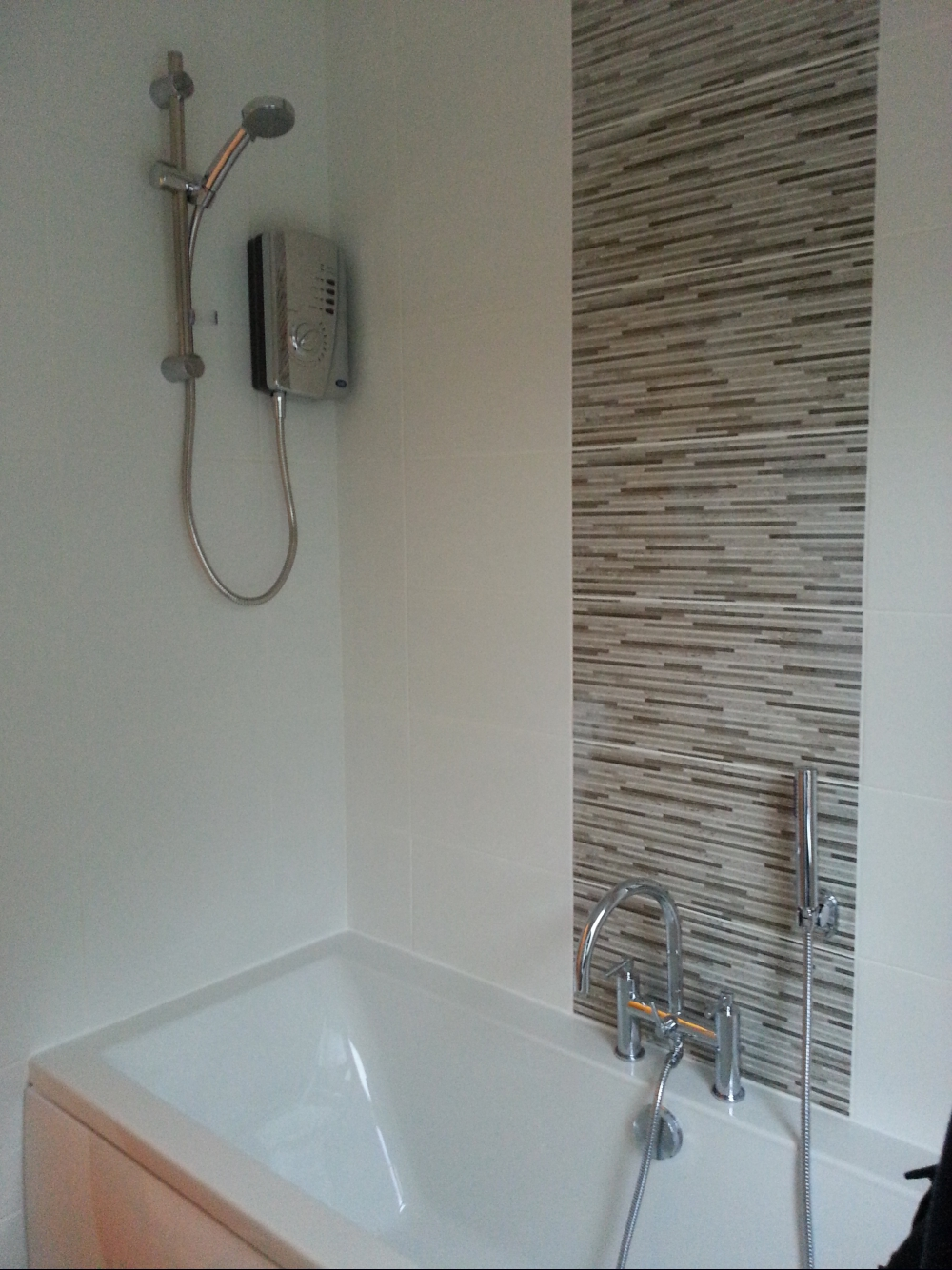 Book of bathroom feature tiles ideas in south africa by for Bathroom feature tile designs