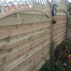 Expensive high quality fence panels