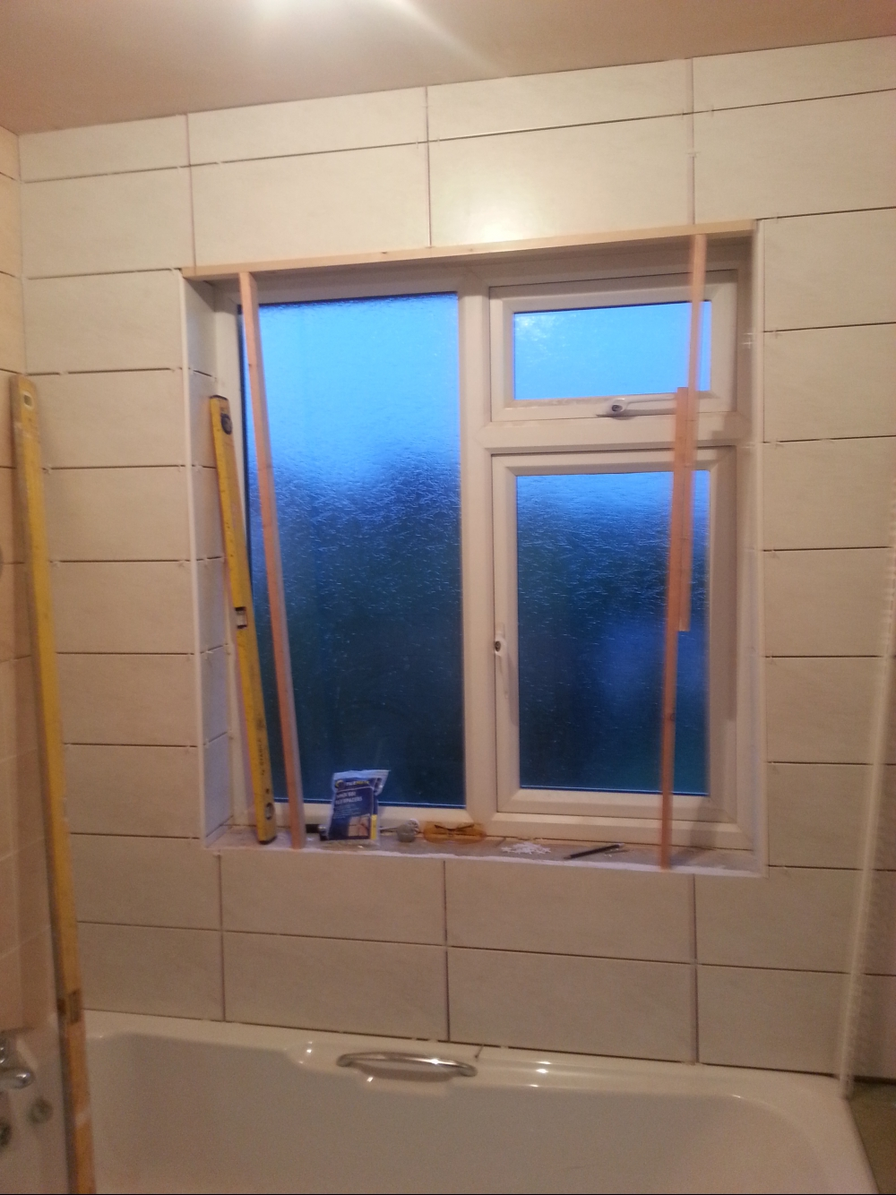 Complete re-fit of a bathroom